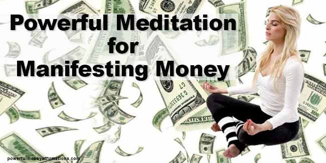 Effective Meditation for Manifesting Money