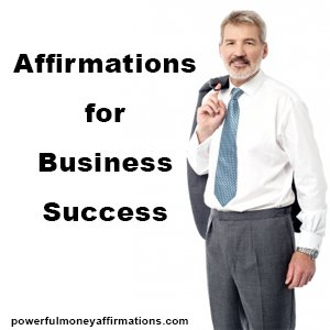 Affirmations for Business Success 2