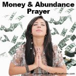 Prayer for Money
