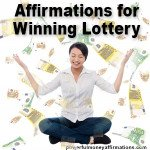 Winning Lottery Money Affirmations