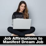 Job Affirmations to Manifest Dream Job