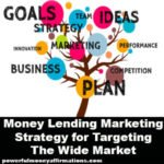 Money lending Marketing Strategy for Targeting The Wide Market