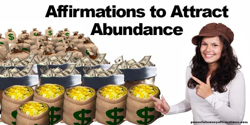 Affirmations to Attract Abundance