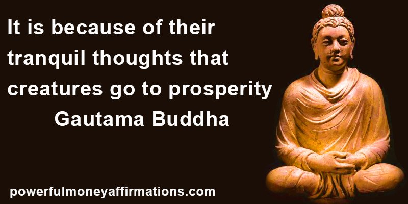 Best Prosperity Quotes Powerful Money Affirmations