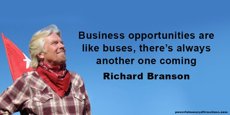 Inspirational Quotes by Billionaire Richard Branson