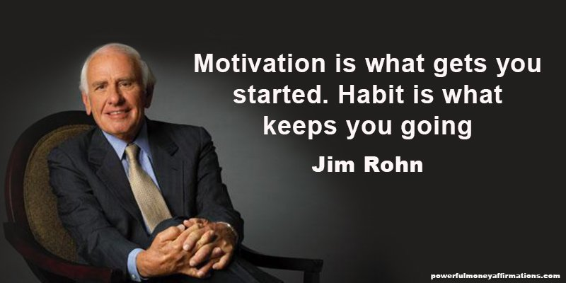 Inspirational Quotes by Millionaire Jim Rohn