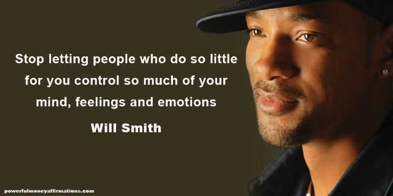 Inspirational Quotes by Millionaire Will Smith