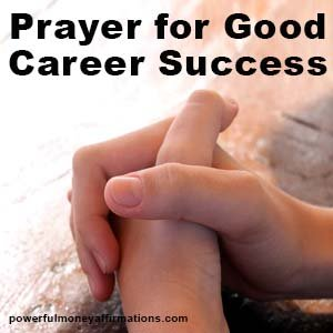 Prayer for Good Career and Success