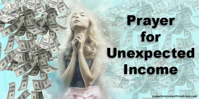 Prayer for Unexpected Income and Financial Prosperity