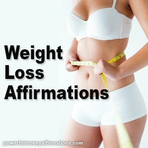 Alternate Affirmations for Weight Loss