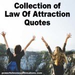 Collection of Law Of Attraction Quotes