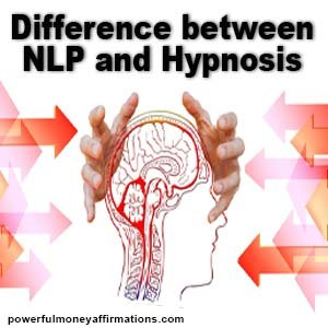 Difference between Hypnosis and NLP Hypnosis vs NLP