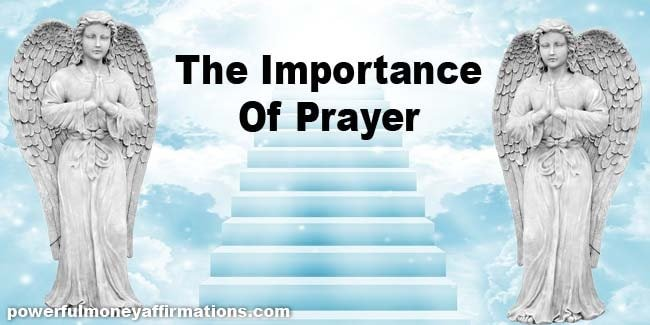 The Importance Of Prayer