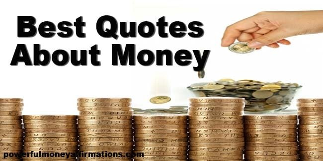 Best Quotes about Money
