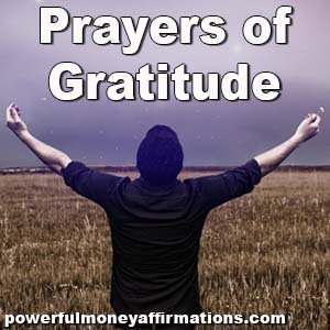 Gratitude Prayers To Thank God