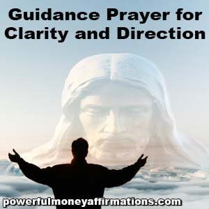 Guidance Prayer for Clarity and Direction